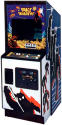 Space Invaders cabinet
